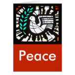 Dove -- Peace with Shakespeare Greeting Card