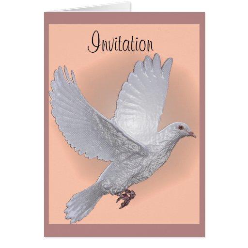 Dove pink, Invitation