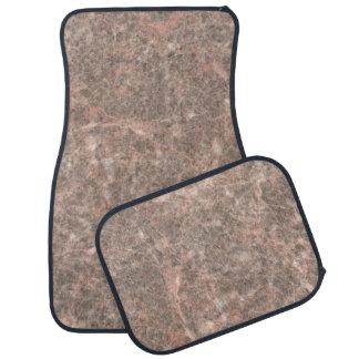 Dove Pink Stone Pattern Background Car Mat
