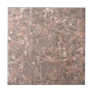 Dove Pink Stone Pattern Background Ceramic Tile