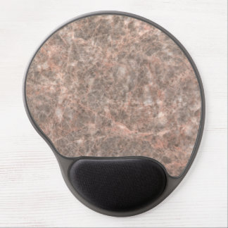 Dove Pink Stone Pattern Background Gel Mouse Pad