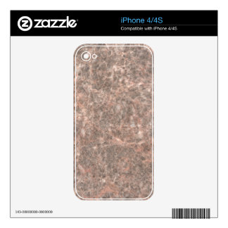 Dove Pink Stone Pattern Background iPhone 4S Decals