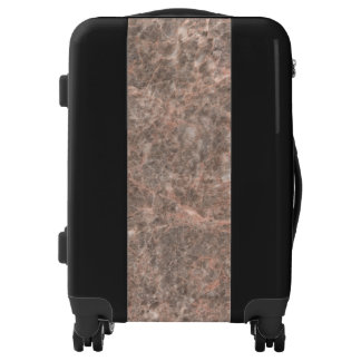 Dove Pink Stone Pattern Background Luggage
