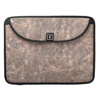 Dove Pink Stone Pattern Background MacBook Pro Sleeves