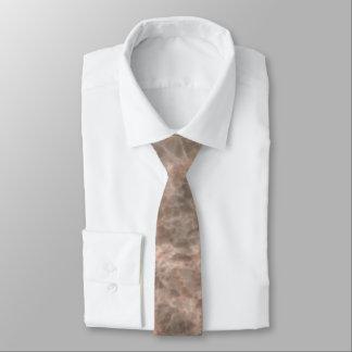 Dove Pink Stone Pattern Background Necktie