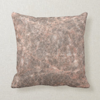 Dove Pink Stone Pattern Background Pillow
