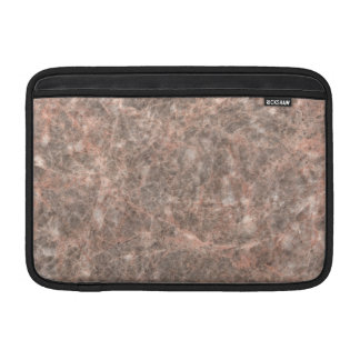 Dove Pink Stone Pattern Background Sleeves For MacBook Air