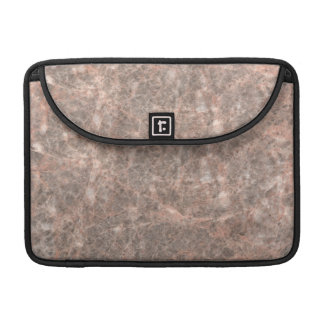 Dove Pink Stone Pattern Background Sleeves For MacBook Pro