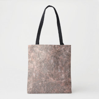 Dove Pink Stone Pattern Background Tote Bag
