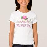 Dove & Rose - Flower Girl T-shirt