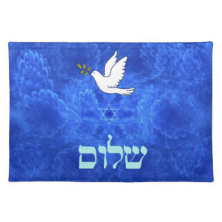 Dove - Shalom Cloth Placemat
