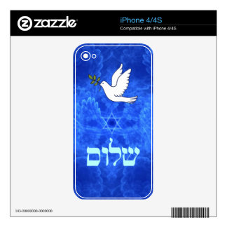 Dove - Shalom Decals For The iPhone 4