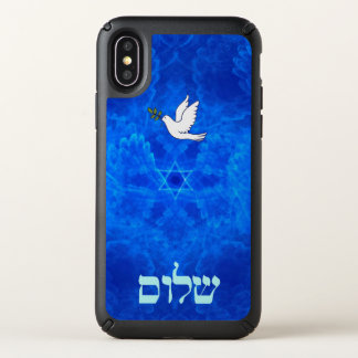 Dove - Shalom Speck iPhone X Case