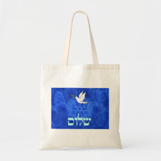 Dove - Shalom Tote Bag