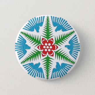 Dove Snowflake Button