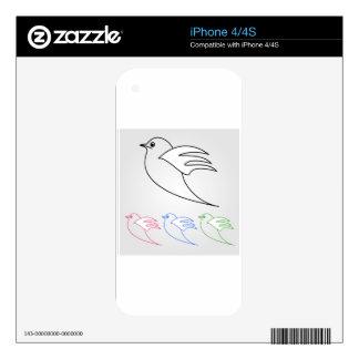Dove- the symbol of peace iPhone 4 skin