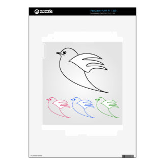 Dove- the symbol of peace skins for the iPad 2