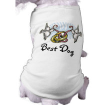 Dove Wedding Best Dog Shirt