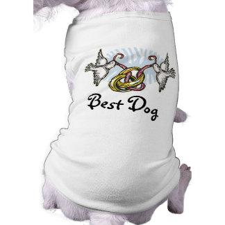 Dove Wedding Best Dog Shirt