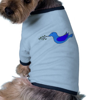 dove with branch doggie shirt