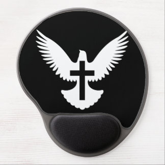 Dove with Cross Gel Mouse Pad