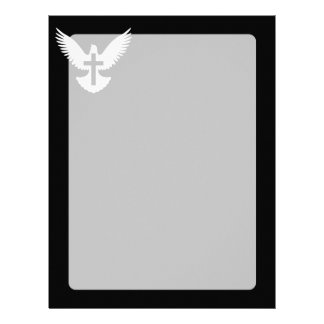 Dove with Cross Letterhead