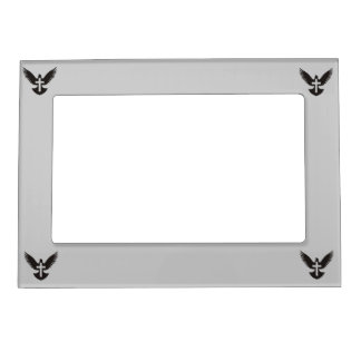 Dove with Cross Magnetic Picture Frame