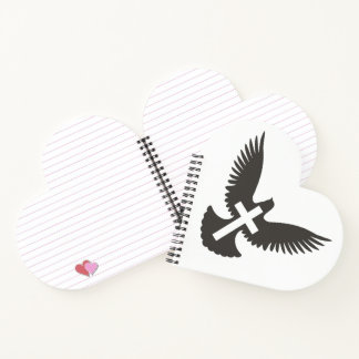 Dove with Cross Notebook