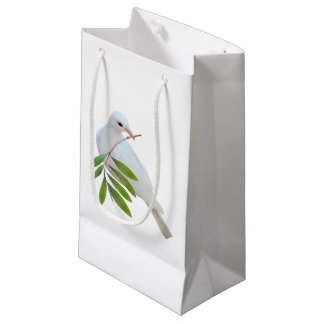 Dove with Olive Branch Gift Bag