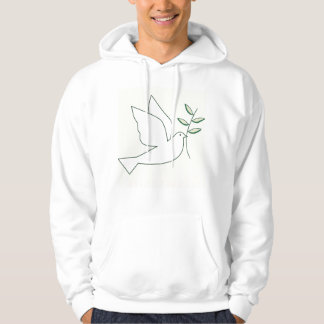 Dove with Olive Branch Hoodie