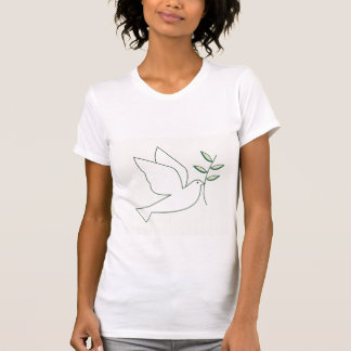 Dove with Olive Branch Tshirt