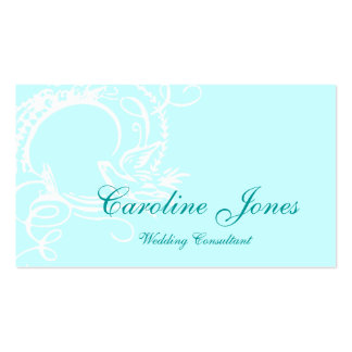 Dove Wreath Double-Sided Standard Business Cards (Pack Of 100)
