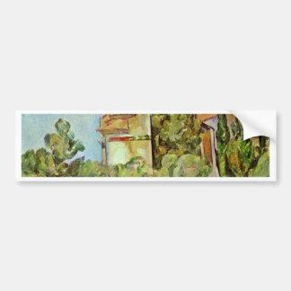 Dovecot At Montbriant By Paul Cézanne Car Bumper Sticker