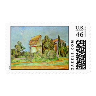 Dovecot At Montbriant By Paul Cézanne Stamps