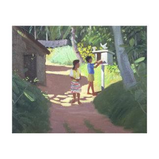 Dovecote Bentota Sri Lanka 1998 Canvas Print