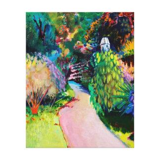Dovecote Exotic Canvas Print