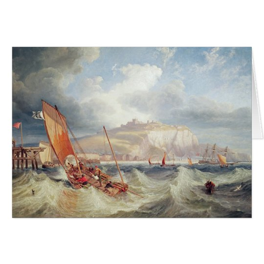 Dover, 1857 card