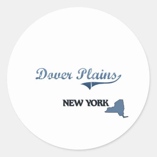 Dover aclara la obra clásica de New York City Pegatinas Redondas