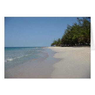 Dover Beach - Barbados Greeting Card