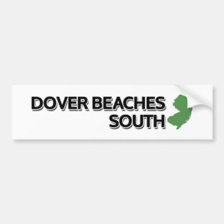 Dover Beach South, New Jersey Bumper Stickers