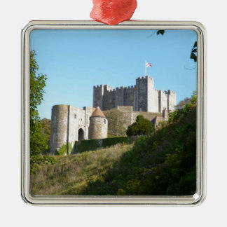 Dover Castle Metal Ornament
