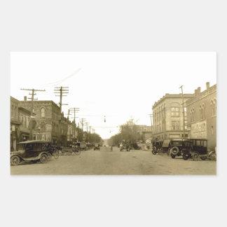 Dover céntrica, Ohio (canal Dover) 1900's temprano Rectangular Altavoz