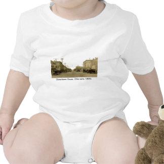 Dover céntrica, Ohio (canal Dover) 1900's temprano Trajes De Bebé