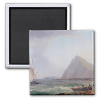 Dover Cliffs 2 Inch Square Magnet