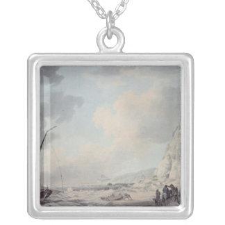 Dover Cliffs Square Pendant Necklace
