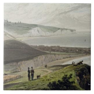 Dover, del acantilado de Shakespeare, 'de un viaje Teja Cerámica