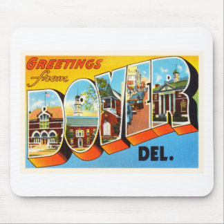Dover Delaware DE Old Vintage Travel Postcard- Mouse Pad