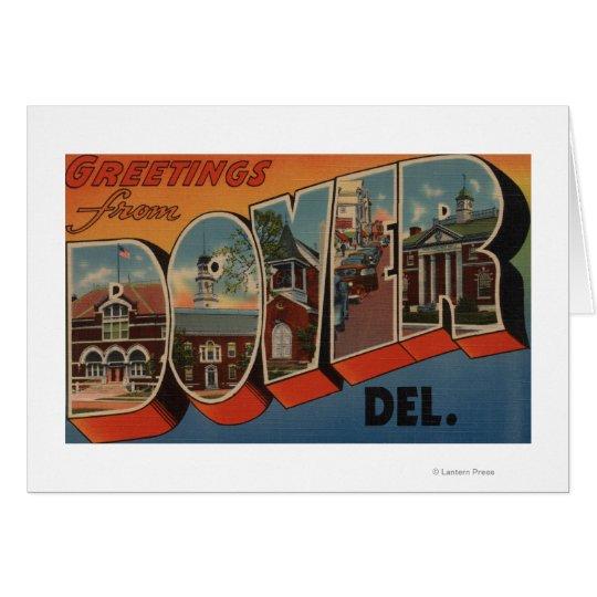 Dover, DelawareLarge Letter ScenesDover, DE Card