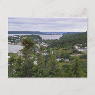 Dover Fault, Newfoundland postcard