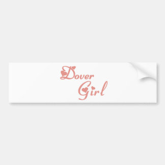 Dover Girl tee shirts Bumper Stickers